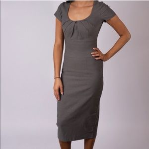 Grey Pencil Dress